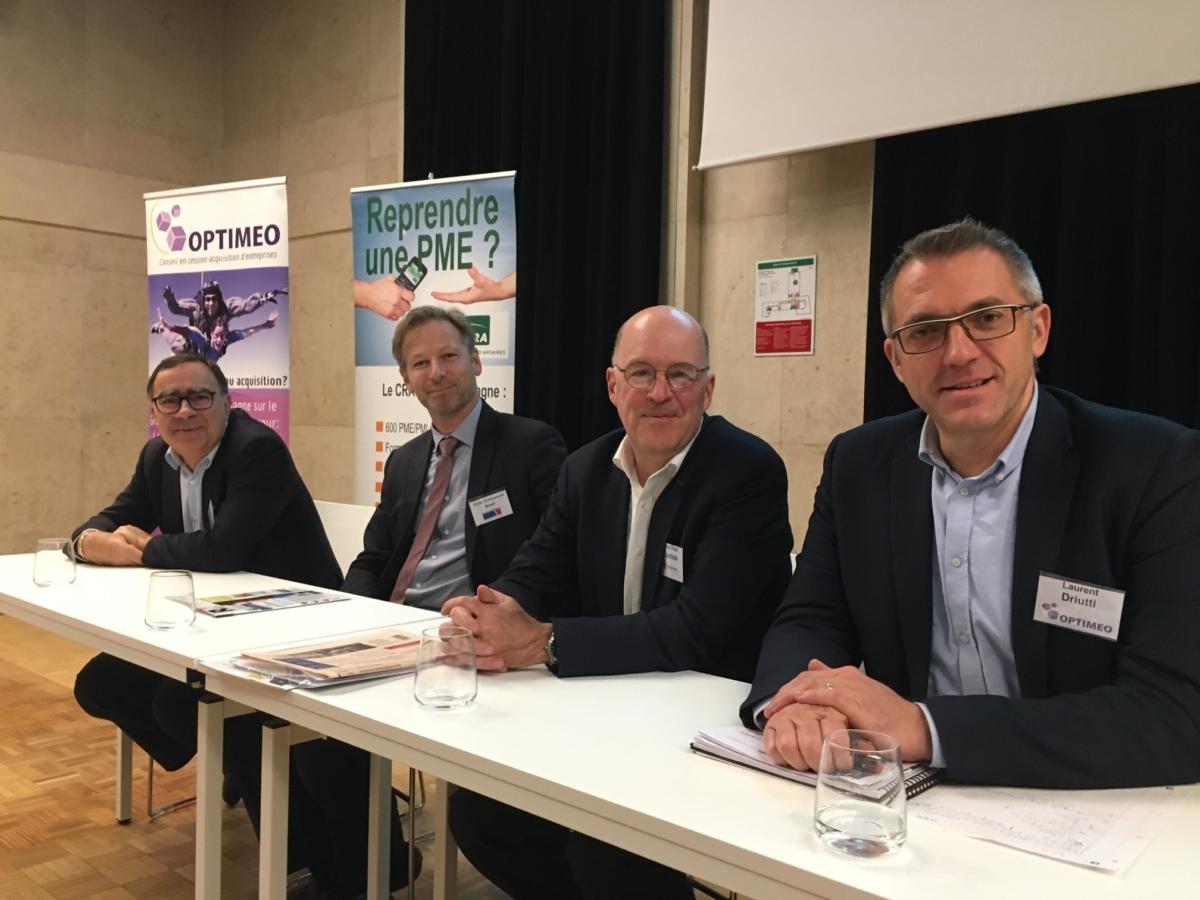 Le 02/12/2019 à Chalons en Champagne – Participation d'Optimeo au Tour de France de la Transmission d'Entreprise